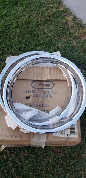 Chrome rings for Sale in Hemet, CA