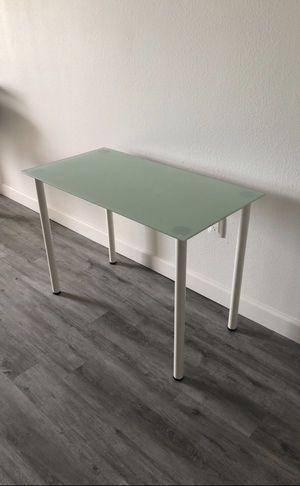 IKEA glass desk for Sale in Miramar, FL