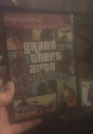 Gta San Andreas Ps2 for Sale in Akron, OH