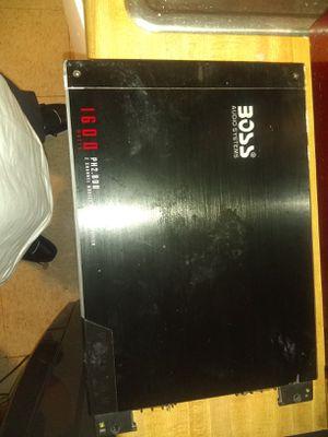 Boss amp 2, channel for Sale in Stockton, CA