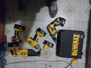 Dewalt drill driver and saws-all for Sale in Painesville, OH