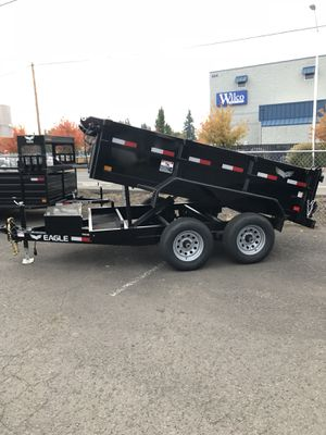 6x10 Tandem Axle Eagle Dump Trailer for Sale in Cornelius, OR