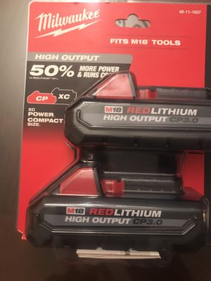 Milwaukee batteries 3.0 high output for Sale in Shafter, CA