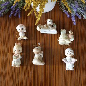Vintage Precious Moments Porcelain Christmas Ornaments for Sale in Union City, NJ