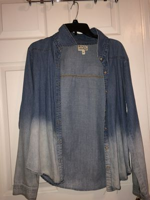 Jean jacket size large for Sale in Murfreesboro, TN