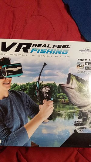 VR real feel 3d reality fishing simulator for Sale in Noblesville, IN