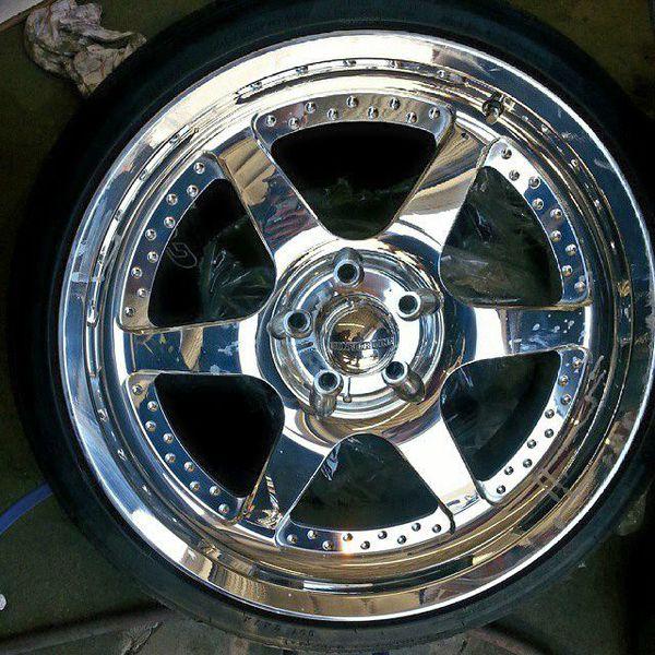 Centerline Billet Wheels 20x8.5 5x4.75 S10 Sonoma Hotrod