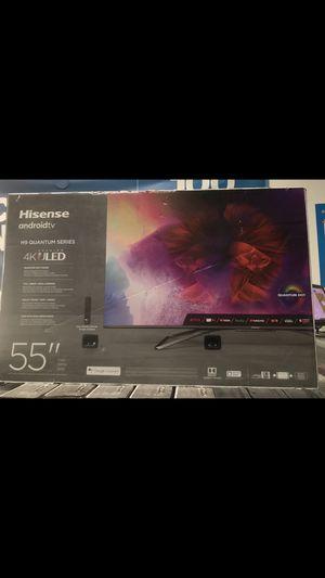 55 INCH HISENSE H9 QUANTUM DOT 4K SMART TV for Sale in Chino Hills, CA