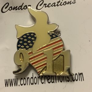 Pin Commemorate 9/11 Limited Edition for Sale in Ontario, CA