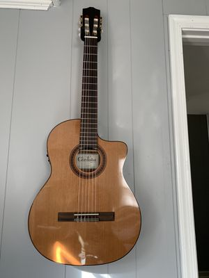 Cordoba C5-CET Thinline Acoustic-Electric Nylon String Classical Guitar for Sale in Manassas Park, VA