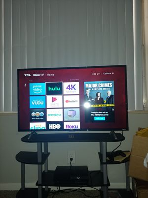Tcl 43s205 43 inch roku smart tv 4k 120hz for Sale in Wichita, KS