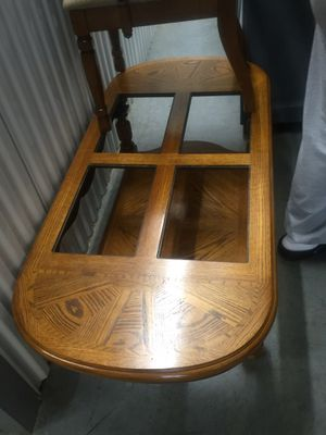 Coffee table and two end tables! Includes 4 glass inserts (*not pictured*) for Sale in Marietta, GA