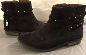 Black Faux Suede Jessica Simpson Hidalgo Boots for Sale in Bluffdale, UT