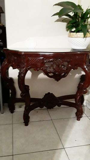 Console sofa table hallway table vintage for Sale in North Las Vegas, NV