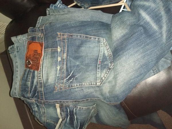 men's heritage America skinny jeans 38x34