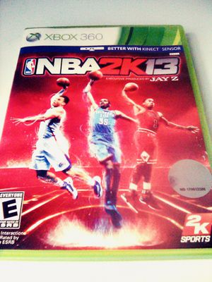 NBA 2K13 (Xbox 360) for Sale in Raleigh, NC