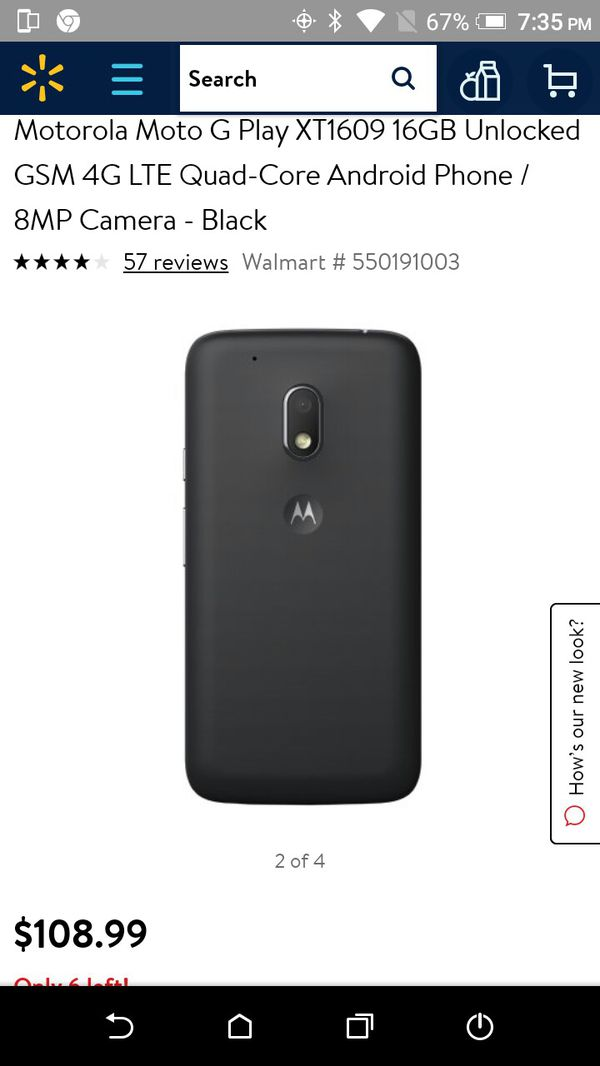 Moto 4 Verizon prepaid phone for Sale in Independence, MO - OfferUp