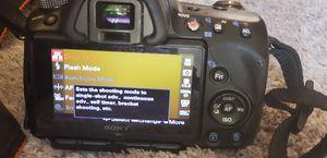 Sony a33 DSLR Camera for Sale in Goodyear, AZ