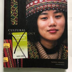 Cultural Anthropology Textbook for Sale in Webster,  NY