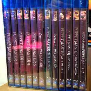 New Puppet Master 12 Blu-Ray Box Set for Sale in Vernon, CT