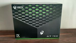 Microsoft Xbox Series X 1TB Video Game Console - Black - Brand New and Sealed for Sale in Buffalo, NY