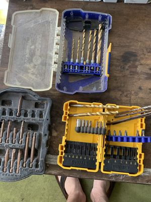 Drill bits, bolts, tool accessories for Sale in Bradenton, FL