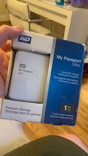Western Digital 1TB hard drive for Sale in San Jose, CA