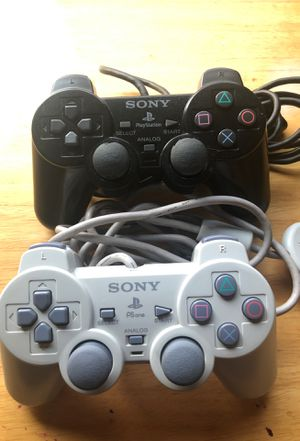PS one PS2 controllers for Sale in El Mirage, AZ