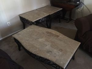 Coffee table and cocktail tables for Sale in Alexandria, VA