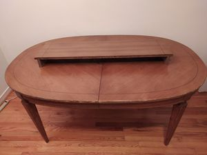Table with extension - FOR SALE for Sale in Silver Spring, MD