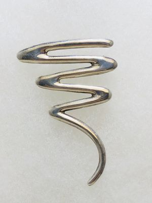 Vintage Sterling Silver Brooch Mid Century Modern 925 for Sale in New Holland, PA