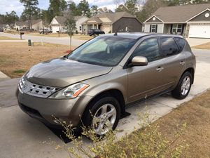 2004 NISSAN MURANO SL for Sale in Florence, SC