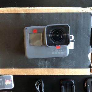 GoPro hero 5 BLACK w/ Action kit for Sale in Gig Harbor, WA