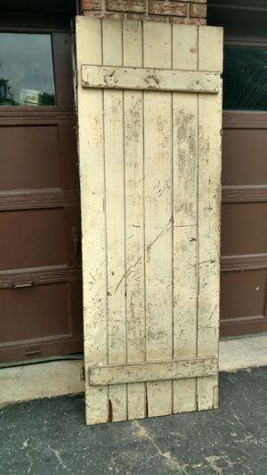 """Old wooden shed door 29"""" 1/2"""" x 81"""" for Sale in Brooklyn Park, MD"""