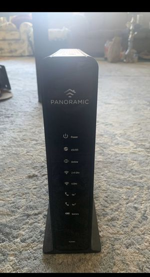 Panoramic modem and router for Sale in Alexandria, VA