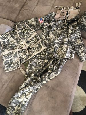 Boys size large army costume used for Sale in Denver, CO
