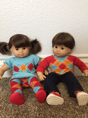 American Girl Bitty Baby Twins Boy & Girl: RETIRED for Sale in Moapa, NV