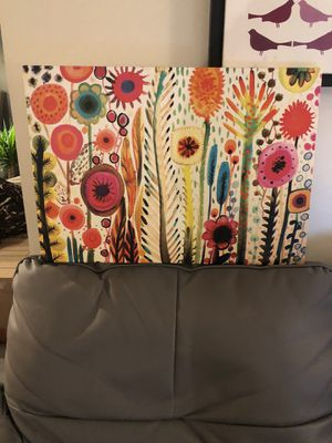 Flowers Wall Art Canvas for Sale in Boston, MA