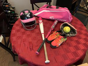 Girls softball gear for Sale in Temecula, CA