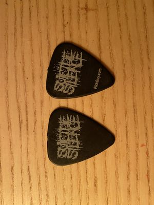 AUTHENTIC SUICIDE SILENCE TOUR GUITAR PICK for Sale in Ontario, CA