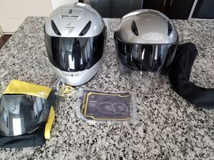 Two BMW motorcycle riding helmets for Sale in Tampa, FL