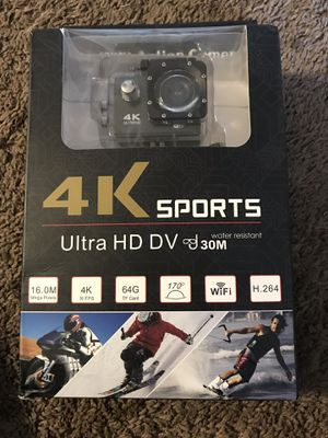 Camera 4K ultra hd no GoPro for Sale in Indianapolis, IN