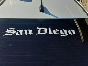OLD INGLISH WINDOW STICKER. for Sale in San Diego, CA
