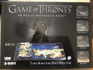 GAME OF THRONES 4D PUZZLES for Sale in Dearborn Heights, MI