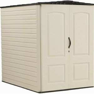 Rubbermaid Large Vertical Resin Storage Shed, 5x6 ft for Sale in Las Vegas, NV