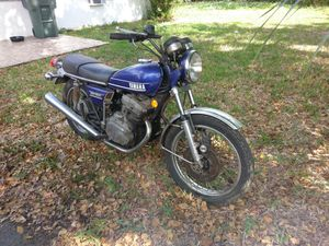 Yamaha tx500 1974 clean title project not running motorcycle bike for Sale in HALNDLE BCH, FL