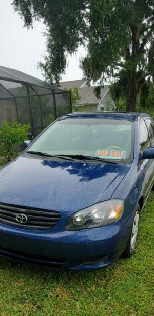 Se vende Toyota Corolla 2003 for Sale in BVL, FL