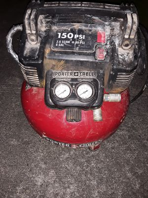 Porter cable pancake compressor for Sale in Maple Valley, WA