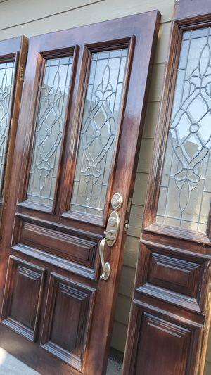 36 x 79 1/2 main door. Sides 14 x81 for Sale in Pasadena, TX