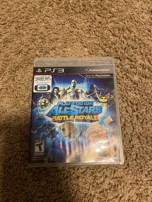 PlayStation all stars ps3 game for Sale in Charlotte, MI